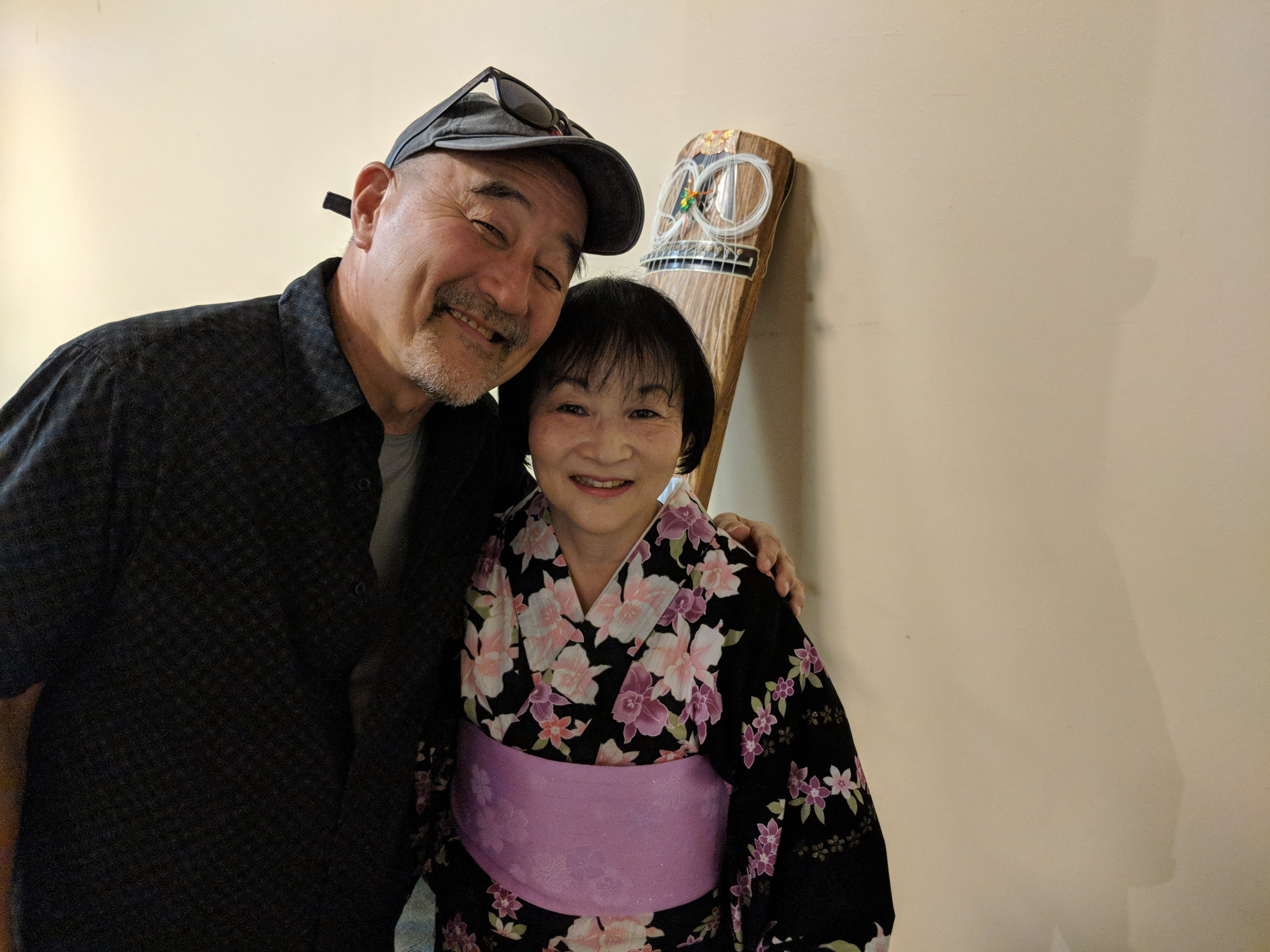 Akira Tana and Shirley at Soy Fest June 30,2018